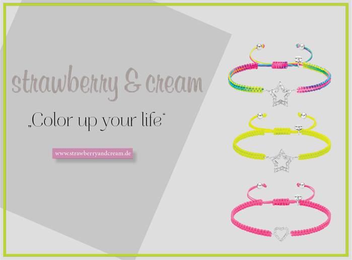 color up your life mit strawberry cream. Black Bedroom Furniture Sets. Home Design Ideas