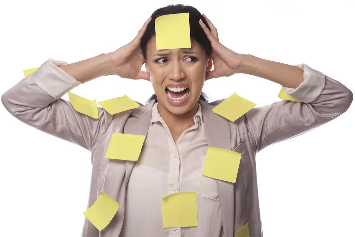 Die Deutschen wünschen sich im neuen Jahr weniger Stress. Bild: istockphoto.com