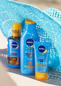 NIVEA Gut geschützt in jedem Sonnen-Moment